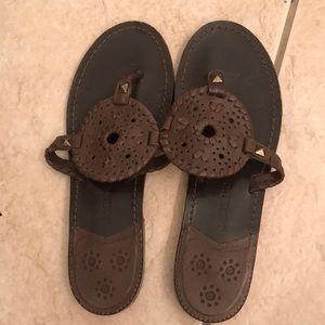 Jack Rogers Georgica Leather Sandals